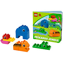 Buy LEGO Duplo Peekaboo Jungle Book and Blocks Online at johnlewis.com