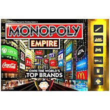 Buy MB Games Monopoly Empire Online at johnlewis.com