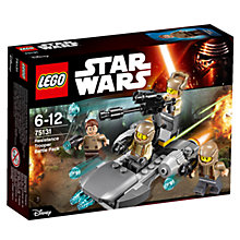 Buy LEGO Star Wars Resistance Trooper Battle Pack Online at johnlewis.com