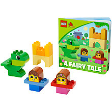 Buy LEGO DUPLO A Fairy Tale Book and Blocks Online at johnlewis.com