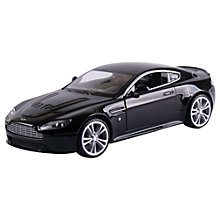 Buy John Lewis 1:24 Black Aston Martin Online at johnlewis.com
