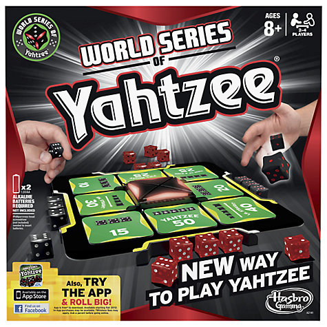 Buy World Series Yahtzee Online at johnlewis.com