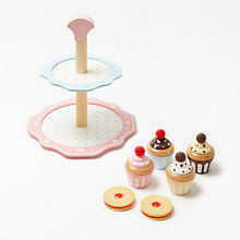 Buy John Lewis Wooden Cake Stand Online at johnlewis.com