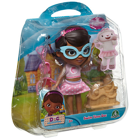 Buy Doc McStuffins Swim Time Doc Doll Online at johnlewis.com