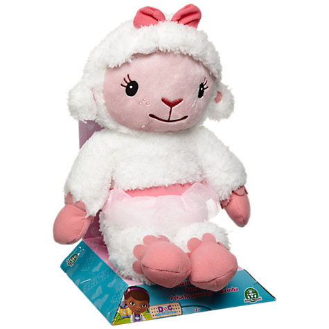 Buy Doc McStuffins Talking Plush Lambie Online at johnlewis.com
