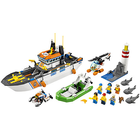 Buy LEGO City Coast Guard Coast Guard Patrol Online at johnlewis.com