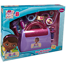 Buy Doc McStuffins Doctor's Bag Playset Online at johnlewis.com