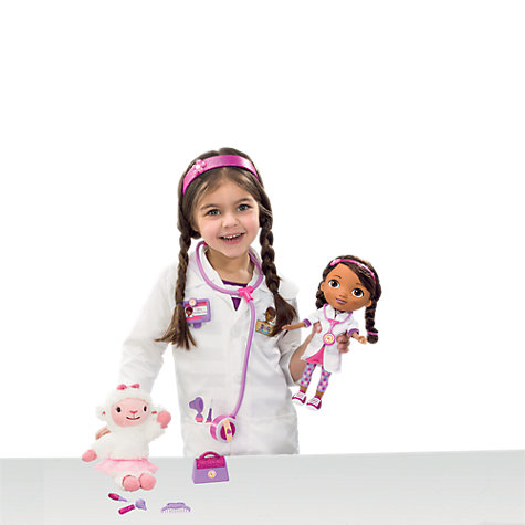 Buy Doc McStuffins Time For Your Check Up Doll and Lambie Online at johnlewis.com