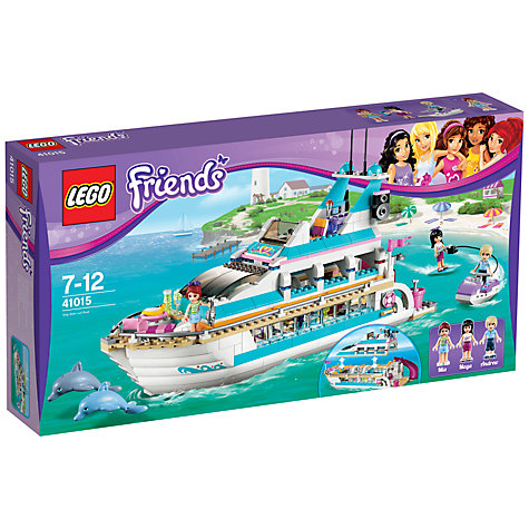 Buy LEGO Friends Dolphin Cruiser Online at johnlewis.com