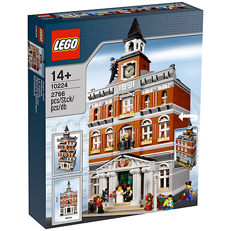 Buy LEGO Creator Town Hall Online at johnlewis.com