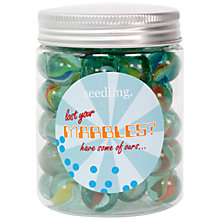 Buy Seedling Lost Your Marbles Marble Jar Online at johnlewis.com