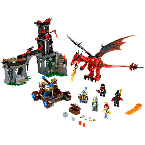 Buy LEGO Castle Dragon Mountain Online at johnlewis.com