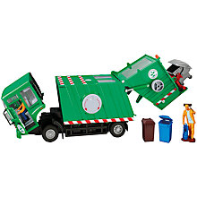 Buy John Lewis Rubbish Truck, Green Online at johnlewis.com