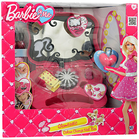 Buy Barbie & Me Glamtastic Colour Change Nail Bar Online at johnlewis.com
