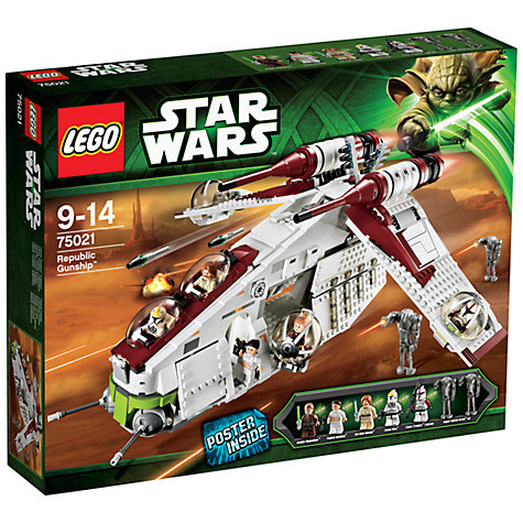 Buy LEGO Star Wars Republic Gunship Online at johnlewis.com