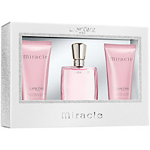 Buy Lancôme Miracle Eau de Parfum Gift Set, 30ml Online at johnlewis.com