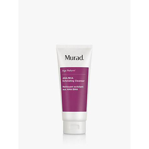 Buy Murad AHA/BHA Exfoliating Cleanser Online at johnlewis.com