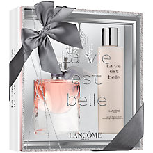 Buy Lancôme La Vie est Belle Eau de Toilette Fragrance Set, 50ml Online at johnlewis.com