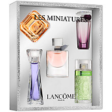 Buy Lancôme Les Miniatures Fragrance Gift Set Online at johnlewis.com