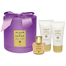 Buy Acqua di Parma Iris Nobile Eau de Parfum Gift Set, 50ml Online at johnlewis.com