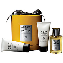 Buy Acqua di Parma Colonia Assoluta Eau de Cologne Gift Set, 100ml Online at johnlewis.com