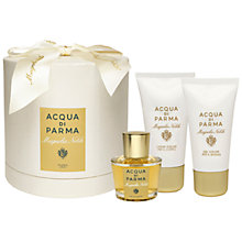 Buy Acqua di Parma Magnolia Nobile Eau de Parfum Gift Set, 50ml Online at johnlewis.com