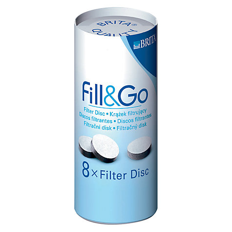 Buy Brita Fill & Go Water Filter Cartridges, Pack of 8 Online at johnlewis.com
