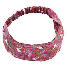 Buy John Lewis Girl Hello Kitty Chunky Headband, Pink/Multi Online at johnlewis.com