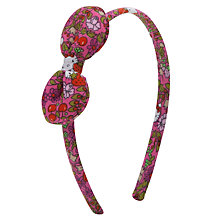 Buy John Lewis Girl Hello Kitty Liberty Alice Band, Pink/Multi Online at johnlewis.com