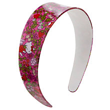 Buy John Lewis Girl Hello Kitty Chunky Alice Band, Pink Online at johnlewis.com