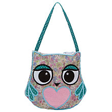 Buy John Lewis Girl Multi Print Owl Bag, Multi Online at johnlewis.com