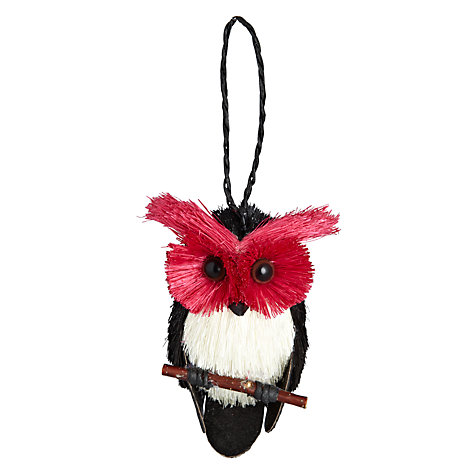 Buy John Lewis Hanging Owl Tree Decoration Online at johnlewis.com