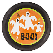 Buy Neviti Halloween Party Plates, Pack of 8 Online at johnlewis.com