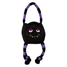 Buy John Lewis Spider Felt Treat Bag, Black Online at johnlewis.com