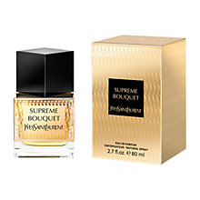 Buy Yves Saint Laurent Supreme Bouquet Eau de Parfum, 80ml Online at johnlewis.com