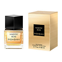 Buy Yves Saint Laurent Majestic Rose Eau de Parfum Spray, 80ml with Luxury Beauty Crackers Online at johnlewis.com