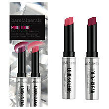 Buy bareMinerals Pout Loud Collection Online at johnlewis.com