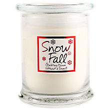 Buy Lily-Flame Snowfall Candle Jar Online at johnlewis.com
