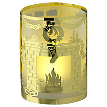 Buy Anglaspel Christmas Morning Tealight, Gold Online at johnlewis.com