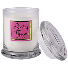 Buy Lily-flame Party Time Candle Jar Online at johnlewis.com