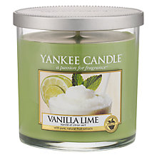 Buy Yankee Vanilla and Lime Scented Candle, Small Online at johnlewis.com