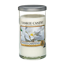 Buy Yankee White Gardenia Scented Candle, Medium Online at johnlewis.com
