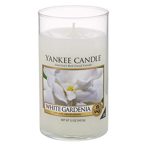 Buy Yankee Candle White Gardenia Scented Candle, Medium Online at johnlewis.com