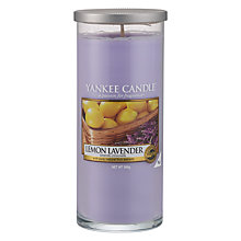 Buy Yankee Lemon and Lavender Scented Candle, Large Online at johnlewis.com