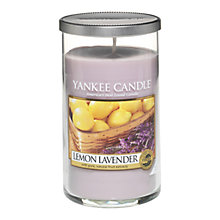 Buy Yankee Candle Lemon and Lavender Scented Candle, Medium Online at johnlewis.com