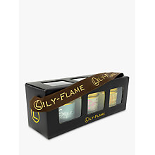 Buy Lily-Flame Scented Candle Trio Online at johnlewis.com