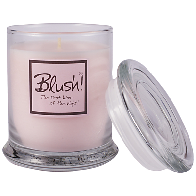 Lily-Flame Blush Scented Candle