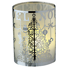 Buy Anglaspel Christmas Tree Tealight, Silver Online at johnlewis.com