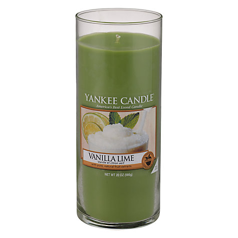 Buy Yankee Candle Vanilla and Lime Scented Candle, Large Online at johnlewis.com