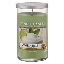 Buy Yankee Vanilla and Lime Scented Candle, Medium Online at johnlewis.com